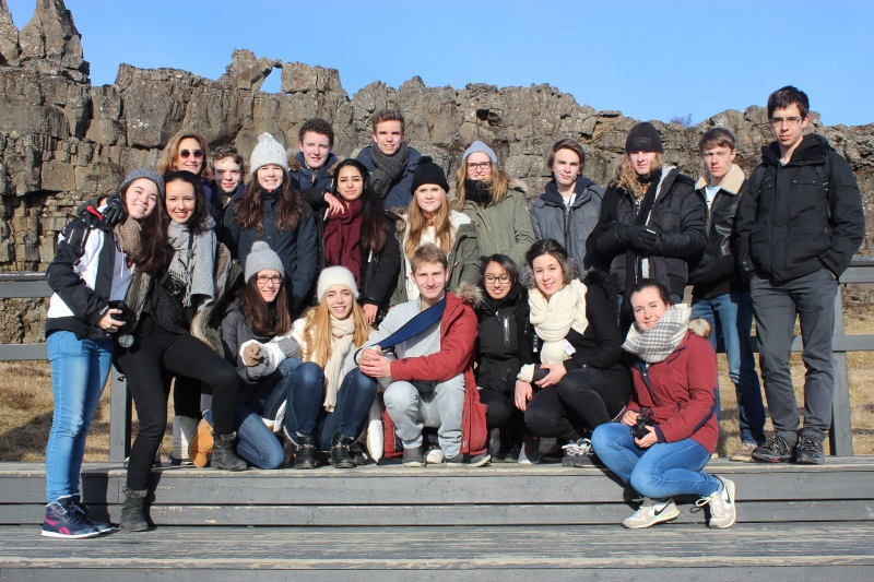 le groupe à Thingvellir 1